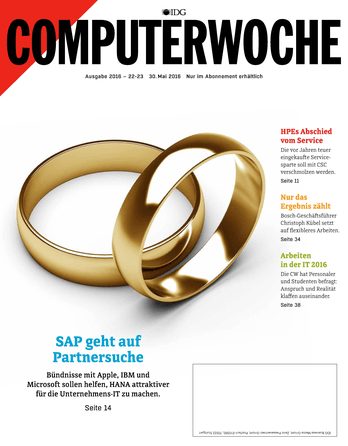 SAP geht auf Partnersuche