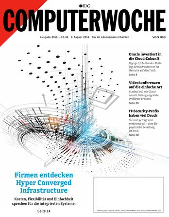 Firmen entdecken Hyper Converged Infrastructure