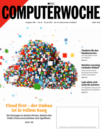Cloud first – der Umbau ist in vollem Gang