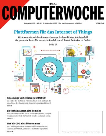 Plattformen für das Internet of Things