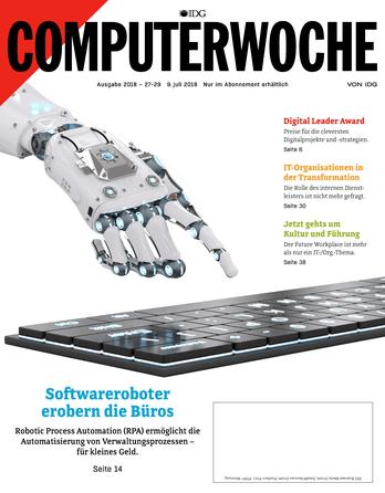 Softwareroboter erobern die Büros
