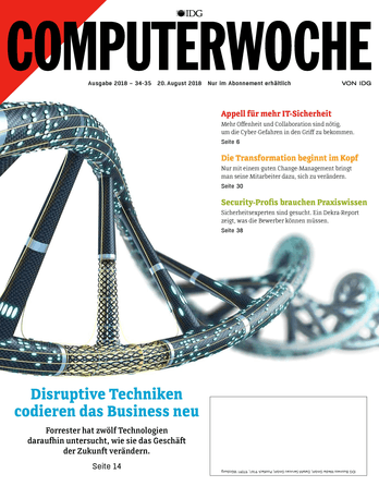 Disruptive Techniken codieren das Business neu