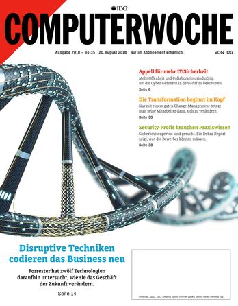 Disruptive Techniken codieren das Business neu