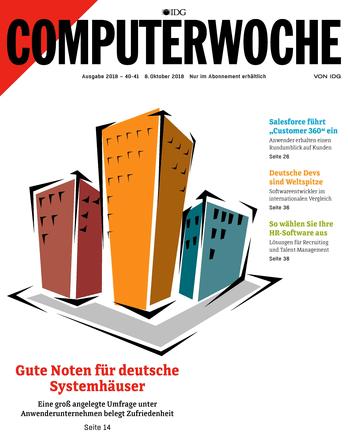 Gute Noten für deutsche Systemhäuser